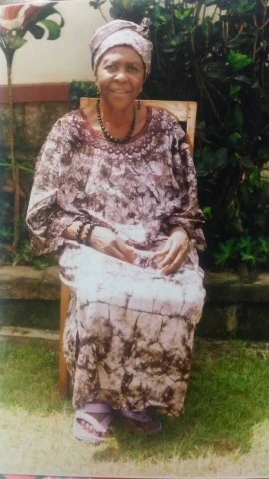 Abbot Anwi, my most beloved dearest maternal grandma just passed sept. 2018